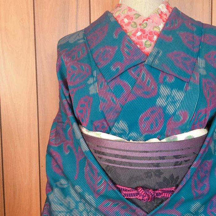 小さいサイズのヴィンテージ着物をきれいに着つける方法