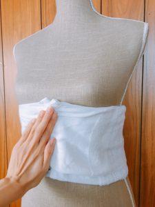 【画像あり】土台が肝心!簡単な補正タオルの作り方