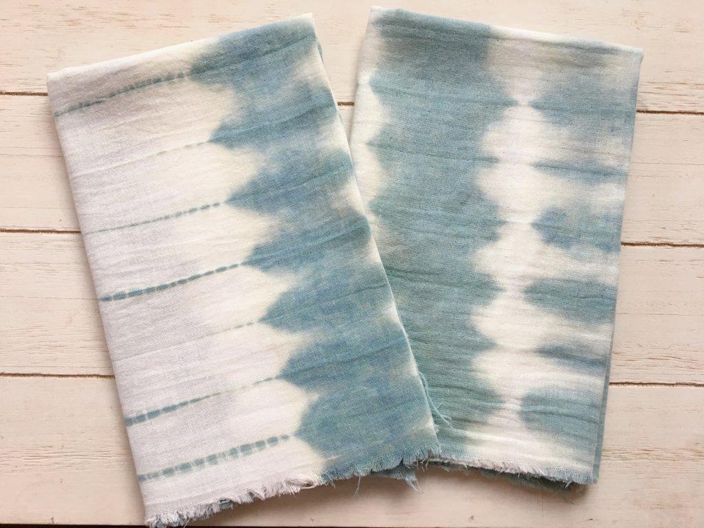 藍染めをしよう!(乾燥葉編)-自宅で簡単に染める方法